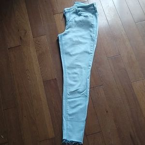 Light Wash Old Navy Rockstar Skinny Jeans